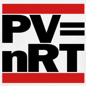 Hip-Hop-style: PV = nRT (ideal gas equation) - Men's Premium T-Shirt