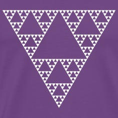 Fractals: Sierpinski Triangle (high detail)