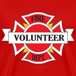 Fire Department Volunteer T-Shirts - Men's Premium T-Shirt