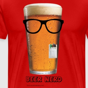 Beer Nerd Men's 3XL/4XL T-Shirt - Men's Premium T-Shirt