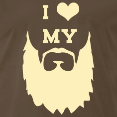 I Love My Beard T-Shirts