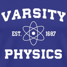 Varsity Physics T-Shirts