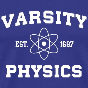 Varsity Physics T-Shirts - Men's Premium T-Shirt