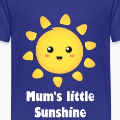cute and happy sunshine Kids' Shirts