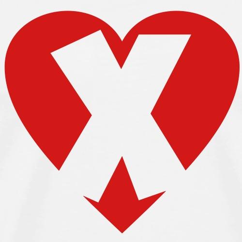 I love X - Heart X