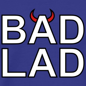 Bad Lad (white text) - Men's Premium T-Shirt