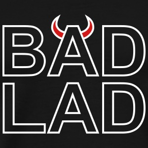 Bad Lad (white outline) - Men's Premium T-Shirt