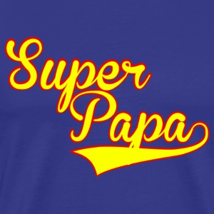 super papa T-Shirts - Men's Premium T-Shirt