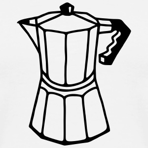 Italian espresso coffee pot T-Shirts - Men's Premium T-Shirt