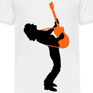 guitar player Baby & Toddler Shirts - Toddler Premium T-Shirt