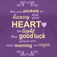 Good Luck & Wealth / Prosperity Irish Blessing