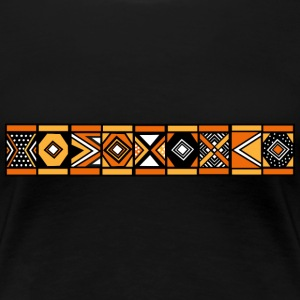 African stripe pattern - Women's Premium T-Shirt