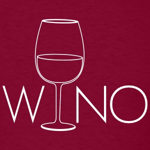 Wino. for Wine Lovers T-Shirts - Men's T-Shirt