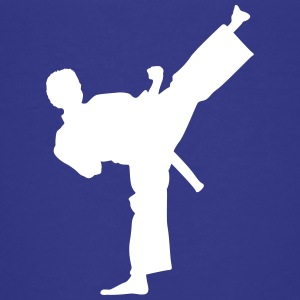 Kick! - Karate, Martial Arts, Kick, Self Defense Kids' Shirts - Kids' Premium T-Shirt