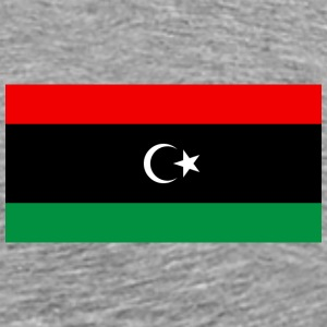 Libya Flag T-Shirt - Men's Premium T-Shirt