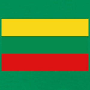 Lithuania Flag T-Shirt - Men's Premium T-Shirt