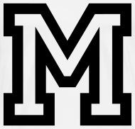Letter M - Coloring Page (Alphabet)