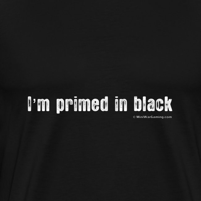 I'm Primed in Black