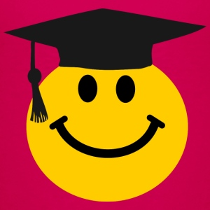 Graduate Smiley face Kids' Shirts - Kids' Premium T-Shirt