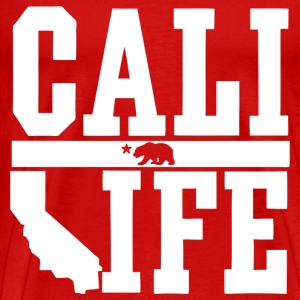 Cali Life Shirt Design T-Shirts - Men's Premium T-Shirt