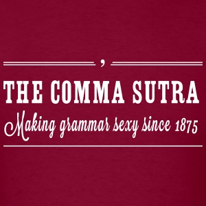 The Comma Sutra T-Shirts - Men's T-Shirt