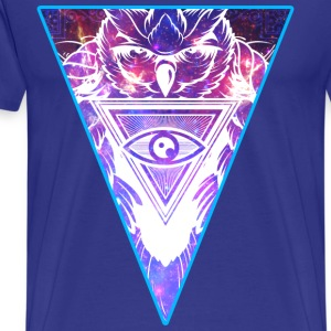 New World Owl T-Shirts - Men's Premium T-Shirt