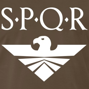 SPQR Aquila Eagle - Men's Premium T-Shirt