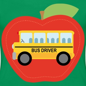 Bus Driver Womens T-shirt (School Bus) - Women's Premium T-Shirt