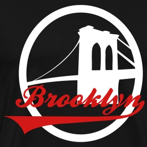 Brooklyn bridge black - Men's Premium T-Shirt