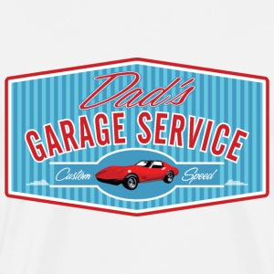 Dad's Garage Service - Men's Premium T-Shirt