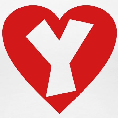 I love Y - Heart Y - Letter Y