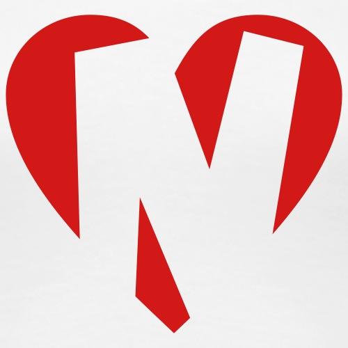 I love N - Heart N - Letter N