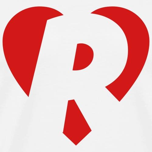 I love R - Heart R - Letter R
