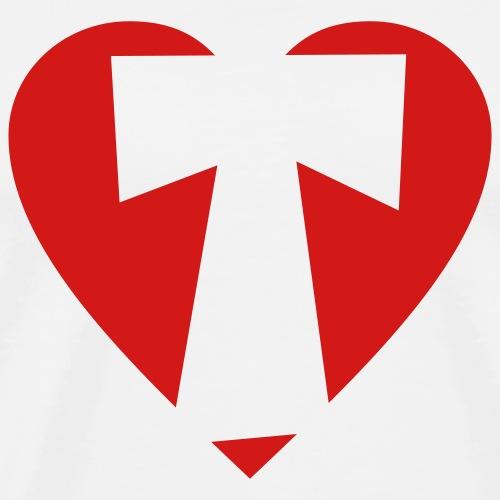 I love T - Heart T - Letter T