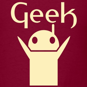 Robot Geek - Men's T-Shirt