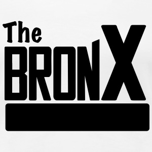 The Bronx Women White - Women's Premium T-Shirt