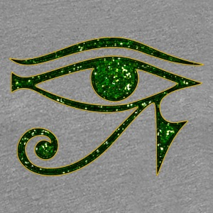 Eye of Horus reverse Moon eye of Thot I Women's T-Shirts - Women's Premium T-Shirt