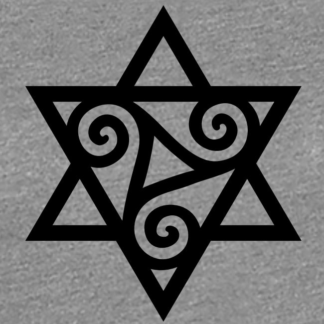 Signs And Symbols Triskele Powerful Symbol Vector Merkaba Celtic