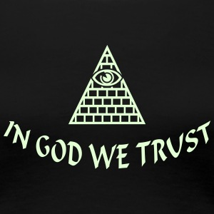 In God we trust (1c) Women's T-Shirts - Women's Premium T-Shirt