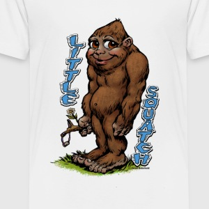 Little Squatch - Toddler Premium T-Shirt