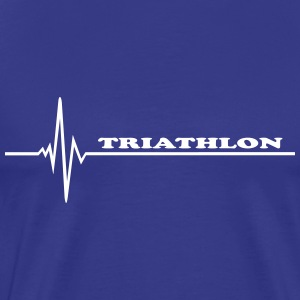 Triathlon - pulse T-Shirts - Men's Premium T-Shirt