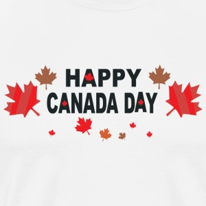Happy Canada Day - Men's Premium T-Shirt
