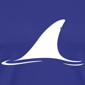 White Shark Fin T-Shirts - Men's Premium T-Shirt