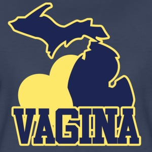 Michigan VAGINA - Women's Premium T-Shirt