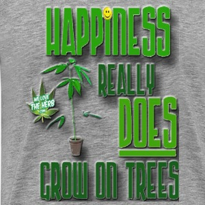 Happiness really does grow on trees - Men's Premium T-Shirt