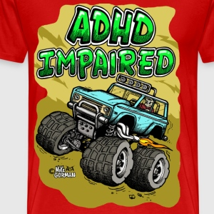 ADHD Ford Bronco - Men's Premium T-Shirt