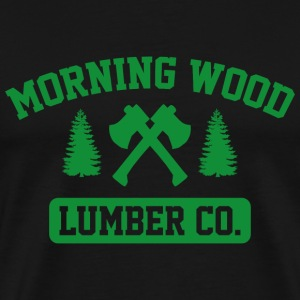 Morning Wood Lumber Co. - Men's Premium T-Shirt