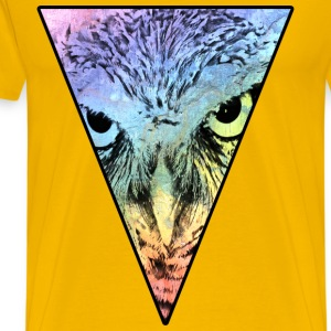 Colorful Owl T-Shirts - Men's Premium T-Shirt