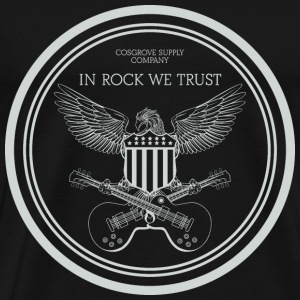 In Rock We Trust - Men's Premium T-Shirt