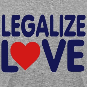LEGALIZE LOVE T-Shirts - Men's Premium T-Shirt